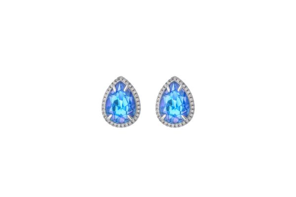 royal sinised kõrvarõngad