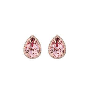 Royal roosa kõrvarõngad